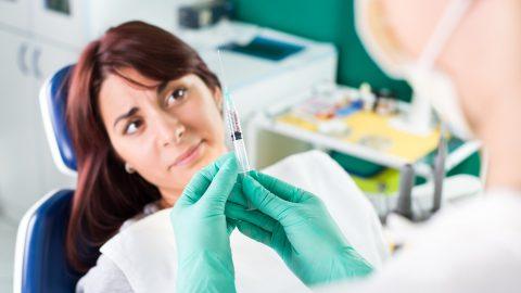 anestezie dentara alaptare